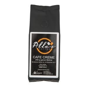 Allez Kaffee Cafe Creme Ganze Bohne 250g